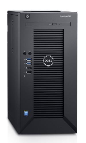 DELL PowerEdge T30/ Xeon Quad Core E3-1225 v5/ 8GB/ 1TB SATA/ DVDRW/ GLAN/ 3Y ProSupport on-site 30-0265