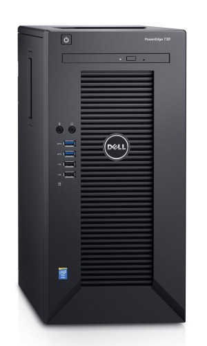 DELL PowerEdge T30/ Xeon Quad Core E3-1225 v5/ 8GB/ 2x 1TB SATA RAID 1/ DVDRW/ GLAN/ W10Pro/ 3YNBD on-site T30-821-3PS-10P