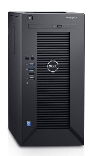 DELL PowerEdge T30/ Xeon Quad Core E3-1225 v5/ 32GB/ 2x 1TB SATA RAID 1/ DVDRW/ GLAN/ 3YNBD on-site T30-3221-3PS