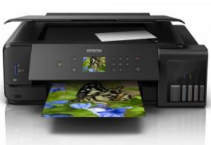 Epson L7180/ 5760 x 1440/ A3/ MFZ/ LCD/ ITS/ Duplex/ 4 barvy/ Wi-Fi/ USB/ 3 roky záruka po registraci C11CG16402