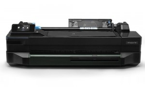 "HP DesignJet T120 24"" ePrinter/ 1200x1200// USB/ LAN/  WL/ černá - bez stojanu CQ891C"