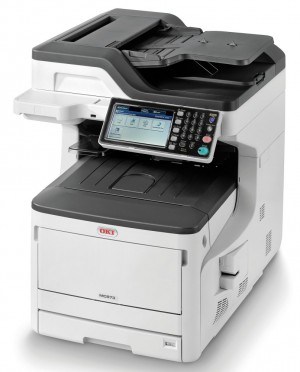OKI MC873dn/ A3/ 35ppm/ 1200x600 dpi / PCL+PS/ Duplex/ Fax/ DADF/ USB/ LAN 45850204
