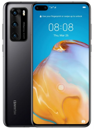 "HUAWEI P40 - černá   6,1"" OLED/ 128GB/ 8GB RAM/ Dual SIM/ LTE/ Android 10 SP-P40128DSBOM"