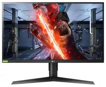 """LG monitor IPS 27GL83A-B 27"""" QHD 2560x1440/ 350cdm/ 1ms/ HDR10/ HDMI/ DP/ FreeSync/ 144Hz/ Pivot 27GL83A-B.AEU"""