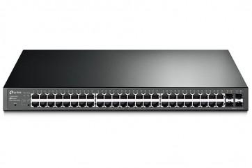 TP-Link T1600G-52PS - 48portový gigabitový Smart PoE+ Switch JetStream se 4 SFP sloty T1600G-52PS (TL-SG2452P)