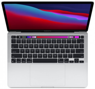Apple MacBook Pro 13'',M1 chip with 8-core CPU and 8-core GPU, 512GB SSD,8GB RAM - Silver mydc2cz/a