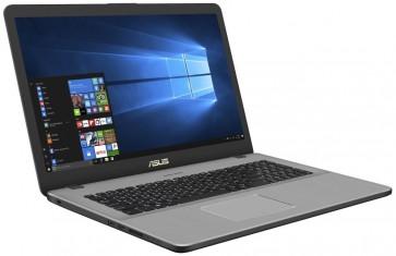 """ASUS N705FN-GC015T/ i5-8265U/ 8GB DDR4/ 128GB SSD + 1TB (5400)/ GeForce MX150 2GB/ 17,3"""" FHD IPS/ W10H/ Šedý+Černý N705FN-GC015T"""