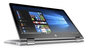 "HP Pavilion x360 14-ba005nc/Intel Pentium 4415U/ 4GB DDR4/1TB (5400)/ Intel HD 610/ 14"" FHD IPS Touch/ W10H/ stříbrný 1VB16EA#BCM"