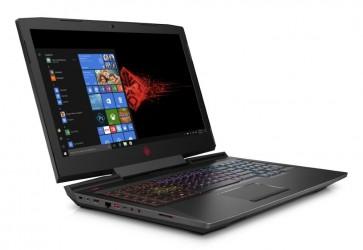 "HP Omen 17-an106nc/ i5-8300H/ 8GB DDR4/ 256GB SSD + 1TB (7200)/ GeForce GTX 1050 4GB/ 17,3"" FHD IPS/ W10H/ černý 4JX40EA#BCM"