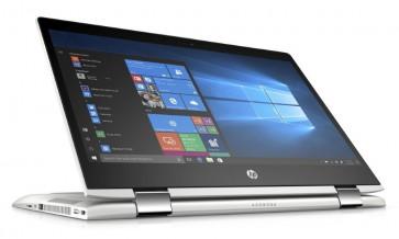 "HP ProBook x360 440 G1/ i3-8130U/ 8GB DDR4/ 256GB SSD/ Intel UHD 620/ 14"" FHD UWVA Touch/ W10P/ sea model/ stříbrný 4QX99ES#BCM"