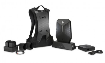 HP Z4 VR Backpack/ i7-7820HQ/ 16GB DDR4/ 256GB SSD/ P5200 16GB/ W10P + battery pack, charger, dock 2ZB91EA#BCM