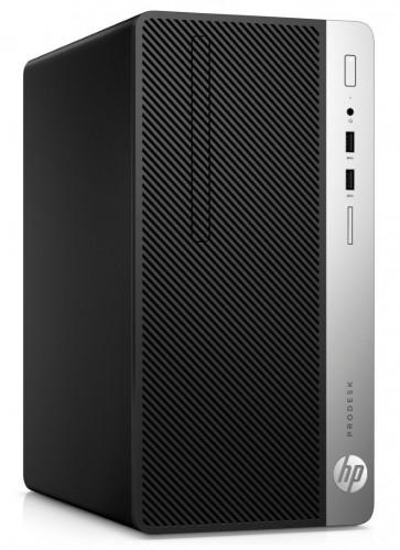 HP ProDesk 400 G4 MT/ i5-7500/ 8GB DDR4/ 256GB SSD/ Intel HD 630/ DVD-RW/ W10P/ klávesnice a myš 3KT87EA#BCM