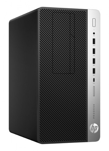 HP ProDesk 600 G4 MT/ i5-8500/ 8GB DDR4/ 1TB (7200)/ Intel HD/ DVD-RW/ W10P+usb klávesnice a myš 3XW65EA#BCM