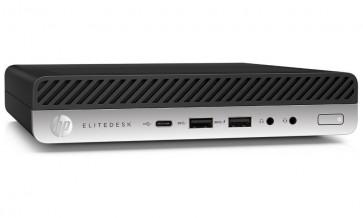 HP EliteDesk 800 G4 DM/ i7-8700T/ 8GB DDR4/ 256GB SSD/ Radeon RX 560 4GB/ W10P+usb klávesnice a myš 4KX50EA#BCM