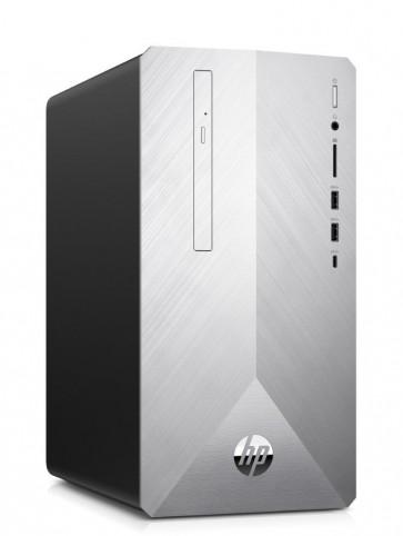 HP Pavilion 595-p0019nc/ SFF/ Ryzen 7 2700/ 16GB DDR4/ 512GB SSD + 1TB (7200)/ GTX 1060 3GB/ DVD-RW/ W10H 7PY03EA#BCM