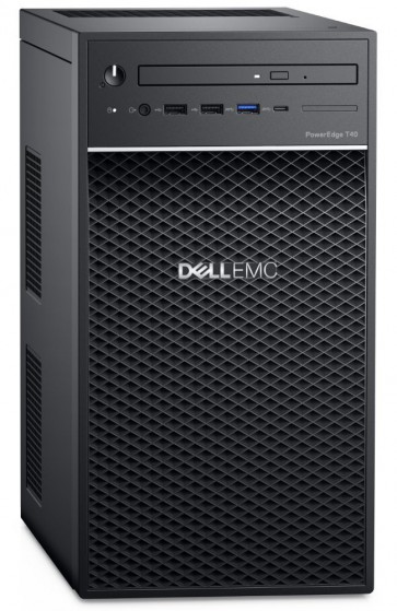 DELL PowerEdge T40/ Xeon E-2224G/ 16GB/ 2x 240GB SSD RAID 1 + 2x 2TB (7200) RAID 1/ DVDRW/ 3x GLAN/ 3Y PS NBD on-site T40-1622422S-3PS