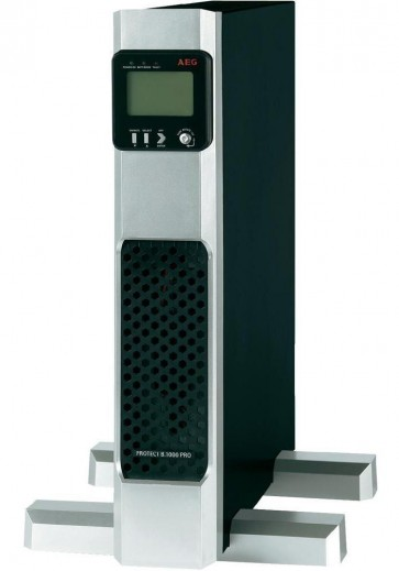 AEG UPS Protect B.1400 PRO/ 1400VA/ 1260W/ 230V/ Tower/ Rack - 2U/ otočný display/ line-interactive UPS 6000008426
