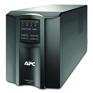 APC Smart-UPS 1500VA (1000W)/ LINE-INTERAKTIVNÍ/ 230V/ LCD/ with SmartConnect SMT1500IC