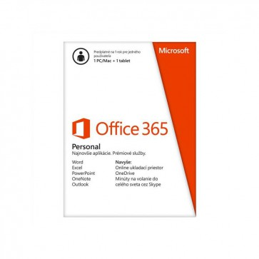 Software Microsoft Office 365 personal SK (QQ2-00082)