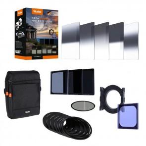 Rollei držák filtrů Rollei F:X Pro Ultimate Filter Kit / polarizační filtr / adaptér 52- 77mm / 5x filtr GND8 / ND8/64/1 26430