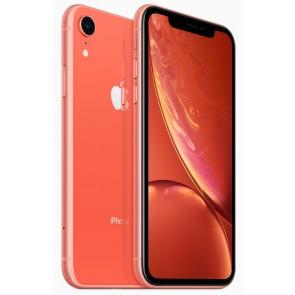 "Apple iPhone XR 128GB Coral   6,1"" IPS Liquid Retina HD/ LTE/ Wifi AC/ NFC/ IP67/ iOS 12 mryg2cn/a"
