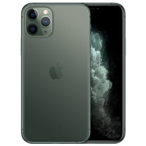 "Apple iPhone 11 Pro 64GB Midnight Green   5,8"" OLED/ 6GB RAM/ LTE/ IP68/ iOS 13 mwc62cn/a"