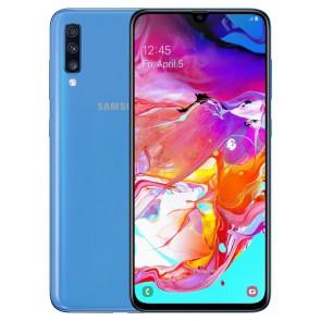"""Samsung Galaxy A70 (A705) - blue   6,7"""" AMOLED/ DualSIM/ 128GB/ 6GB RAM/ LTE/ Android 9 SM-A705FZBUXEZ"""