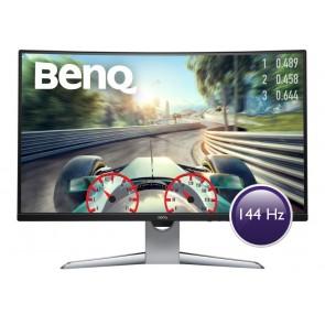 """BENQ 32"""" LED EX3203R/ Curved/ VA panel/ 2560x1440/ 20M:1/ 4ms/ 144 Hz/ HDMI/ DP/ USB C/ USB/ HDR/ FreeSync/ černý 9H.LGWLA.TSE"""