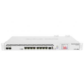 MikroTik Cloud Core Router CCR1036, 8x Gbit LAN, 2x 10 Gbit SFP+ port, 4GB, dotykové LCD, L6 CCR1036-8G-2S+