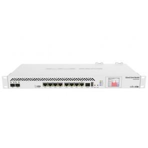 OPRAVENÉ - MikroTik Cloud Core Router CCR1036, 8x Gbit LAN, 2x 10 Gbit SFP+ port, 4GB, dotykové LCD, L6 CCR1036-8G-2S+_VYP