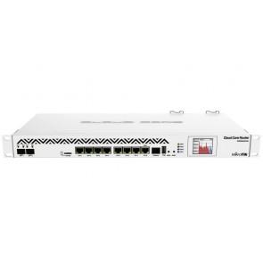 Mikrotik Cloud Core Router CCR1036-8G-2S+EM/ 8GB RAM/ 2x SFP+ cage/ 8x GLAN/ L6/ 1U/ PSU/ LCD/ rack CCR1036-8G-2S+EM