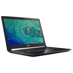 """Acer Aspire 7 (A715/72G/72Z5)/ i7-8750H/8GB DDR4+N/ 16GB+1TB (5400)/ GTX1050 4GB/ 15,6"""" FHD IPS/ W10H/ černý NX.H23EC.002"""