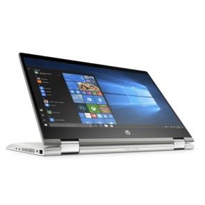 "HP Pavilion x360 14-cd0016nc/ i5-8250U/ 6GB DDR4/ 256GB SSD/ Intel UHD 620/ 14"" FHD IPS Touch/ W10H/ stříbrný 4MW31EA#BCM"