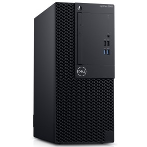 DELL OptiPlex 3060 MT/ i3-8100/ 8GB/ 1TB (7200)/ DVDRW/ W10Pro/ 3YNBD on-site 3060-3350