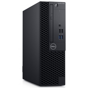 DELL OptiPlex 3060 SFF/ i3-8100/ 4GB/ 500GB (7200)/ DVDRW/ W10Pro/ 3YNBD on-site 3060-3398