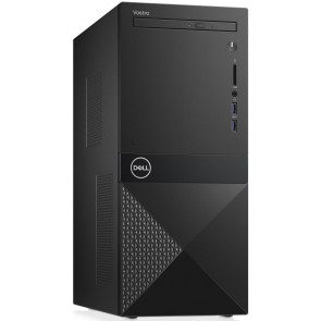 DELL Vostro 3670/ Pentium G5400/ 4GB/ 1TB (7200)/ DVDRW/ Wifi/ W10Pro/ 3YNBD on-site 2JY22