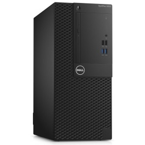DELL OptiPlex 3050 MT/ i3-7100/ 8GB/ 256GB SSD/ DVDRW/ W10Pro/ 3YNBD on-site 3050-3307