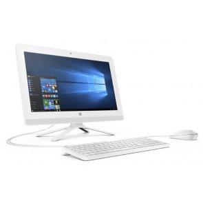 "HP 20-c412nc AiO/ J4005/ 8GB DDR4/ 1TB (7200)/ Intel UHD 600/ 19,5"" FHD VA/ W10H/ bílý +kbd,myš 8KS49EA#BCM"