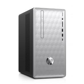 HP Pavilion 590-p0000nc/ AMD A10-9700/ 8GB DDR4/ 1TB (7200)/ AMD RX550 2GB/ DVD-RW/ W10H + klávesnice a myš 4JW82EA#BCM