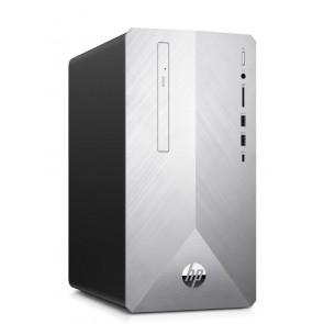 HP Pavilion 595-p0018nc/ SFF/ Ryzen 5 2600/ 8GB DDR4/ 256GB SSD + 1TB (7200)/ Radeon RX 580 4GB/ DVD-RW/ W10H 7QE95EA#BCM