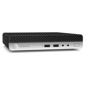 ROZBALENÉ - HP ProDesk 405 G4 DM/ Ryzen 3 Pro 2200GE/ 8GB DDR4/ 256GB SSD/ Radeon RX Vega 8/ W10P/ Černý +kbd,myš POCHP1984V