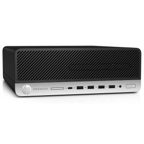 HP ProDesk 405 G4/ SFF/ Ryzen 5 Pro 2400G/ 8GB DDR4/ 256GB SSD/ RX Vega 11/ DVD-RW/ W10P +kbd,myš 9DP08EA#BCM