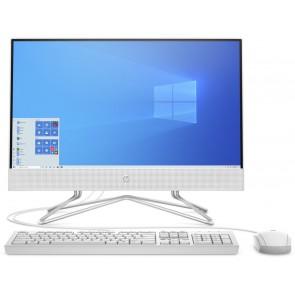 """HP 205 G4/ AiO/ Athlon Silver 3050U/ 4GB DDR4/ HDD 1TB (7200)/ Radeon Vega 2/ 21,5"""" IPS FHD/ DVD-RW/ W10P/ Bílý/ kbd+myš 9US08EA#BCM"""