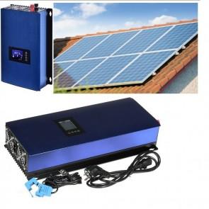 Solární elektrárna GridFree 2000: 2kW měnič s limiterem + 8x 280Wp solární panel SOPGWL0030