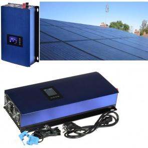 Solární elektrárna GridFree 2000M: 2kW měnič s limiterem + 8x 300Wp solární panel, mono, černý SOPGWL0040