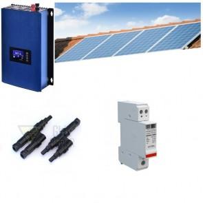 Solární elektrárna GridFree 1000: 1kW měnič s limiterem + 4x 280Wp solární panel SOPGWL0042