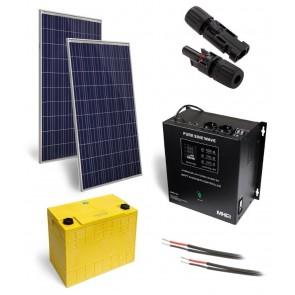 Solární elektrárna OffGrid 500, 560Wp, LFP 90Ah SOPGWL0085