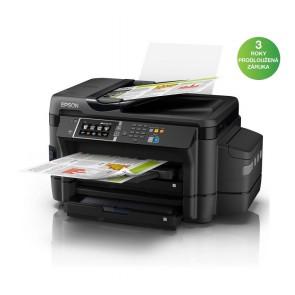 Epson L1455/ 4800 x 1200/ A3+/ MFZ/ ITS/ LCD/ 4 barvy/ Duplex/ ADF/ Fax/ Wi-Fi/ USB/ 3 roky záruka po registraci C11CF49401