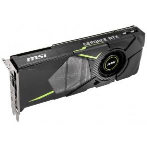 MSI GeForce RTX 2070 AERO 8G / 8GB GDDR6  / PCI-E / 3x DP / HDMI / USB Type-C RTX 2070 AERO 8G