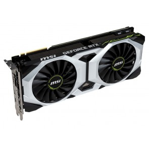 MSI GeForce RTX 2080 VENTUS 8G / 8GB GDDR6 / PCI-E / 3x DP / HDMI / USB Type-C RTX 2080 VENTUS 8G